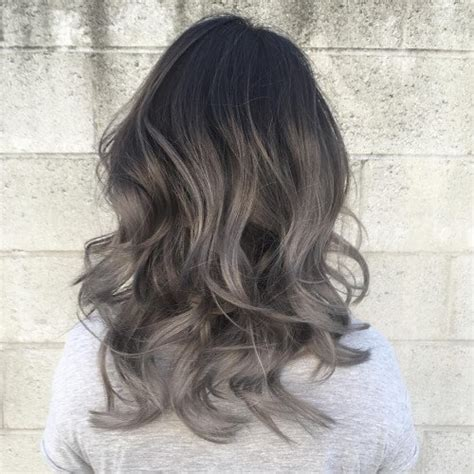 silver and brown hair style dark brown hair with blue highlights hairs picture gallery