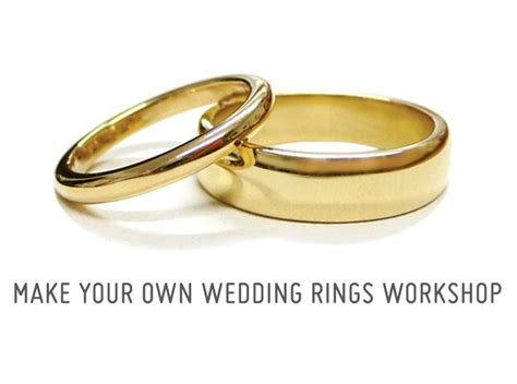 two jewellers make your own wedding rings make your own