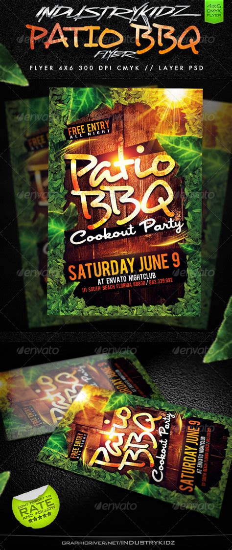 patio bbq flyer www moderngentz your