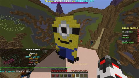 build battle themes list minecraft descargar build battle mini game v1 0 apk 218 ltima