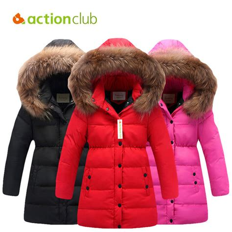 aliexpress buy actionclub winter coat children