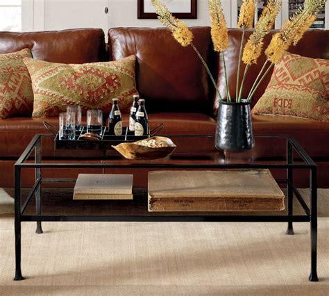 Tanner Rectangular Coffee Table Traditional Coffee Potterybarn Coffee Table