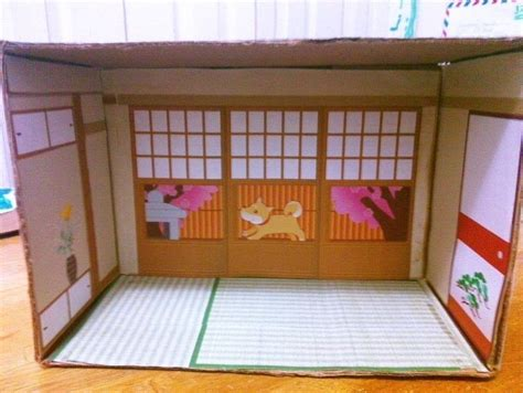 diorama house japanese paper house diorama 183 a dolls house 183 decorating