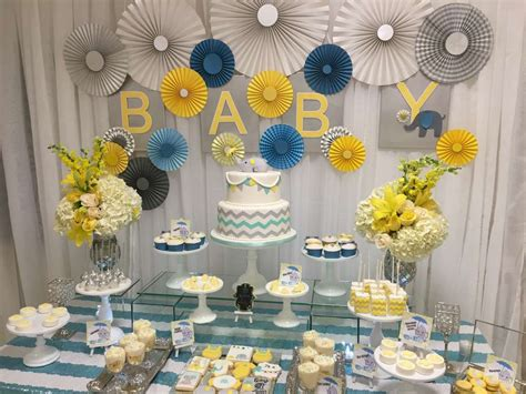 glam elephant baby shower baby shower ideas