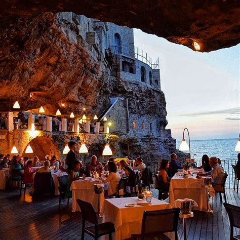 the cliff restaurant italy the 10 most stunning restaurants in the world deep sea