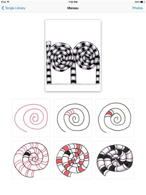 zentangle pattern marasu 25 beste idee 235 n over organische patronen op pinterest