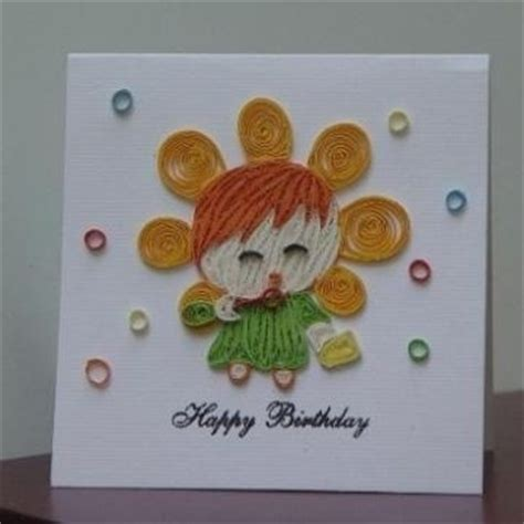 What Does Handmade - birthday card with quilling paper 100 handmade quaint