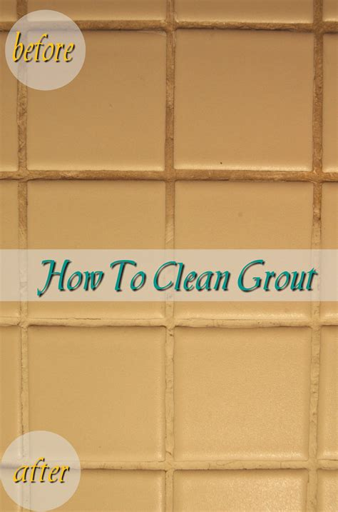 how to clean grout made2style