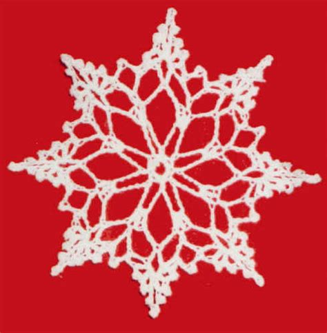 crochet free pattern snowflake crochet club
