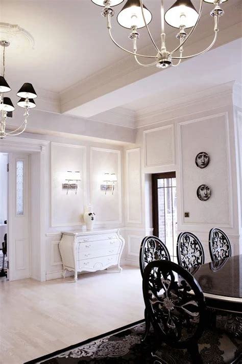 neoclassical interior design ideas black white design by svetlana roma neoclassical