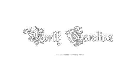 north carolina tattoo designs carolina usa state name designs page 3 of 5
