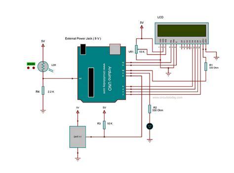 light sensor circuit using ldr smart lcd brightness control using arduino and ldr