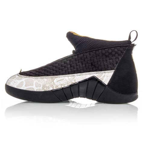 Black And Gold Ls by Air 15 Retro Ls Mens Basketball Shoes Black