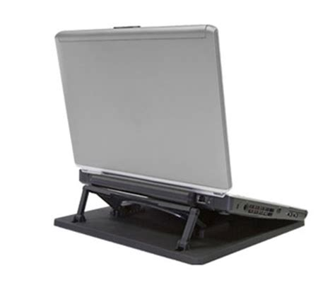 adjustable height and angle laptop desktop stand riser
