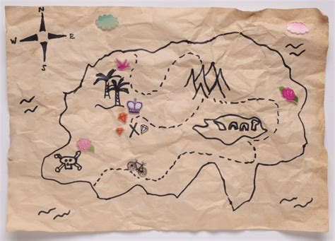How To Make Treasure Map Paper - 17 best images about with on