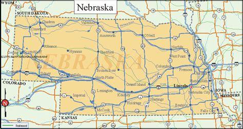 printable nebraska road map 22 excellent nebraska time zone map afputra com