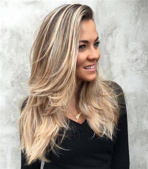 layered haircut for long hair at home 30 best hairstyles for long straight hair 2018