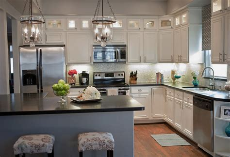 kitchens ideas with white cabinets remodelaholic complete kitchen transformation white cabinets