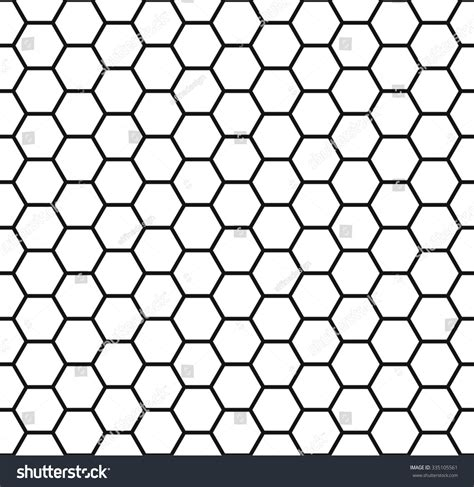 honeycomb seamless pattern royalty free vector image honeycomb background seamless hexagons pattern vector stock vector 335105561