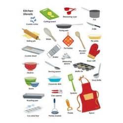 kitchen items list kitchen utensils vocabulary esl efl in secondary