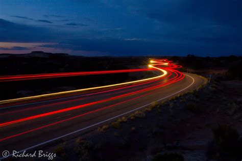 Photographing Utah S Red Rock Country Photographing Car Car Lights