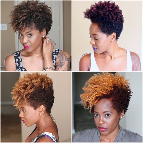 growing a natural bob haircut how to grow out a tapered cut and hair color journey