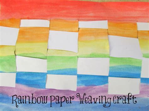 Paper Weaving Crafts - five easy paper craft ideas you can do with the