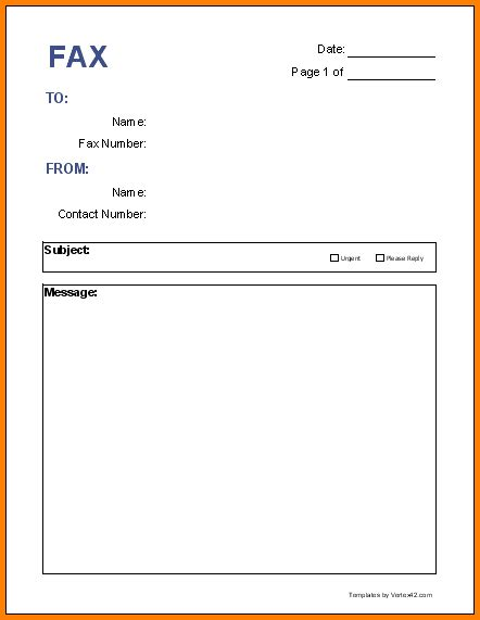 How To Make A Cover Sheet For A Paper - 10 fax cover sheet printable letterhead template sle