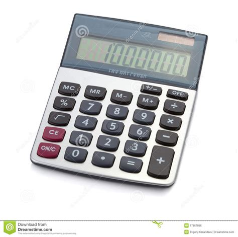 office digital calculator royalty free stock image image