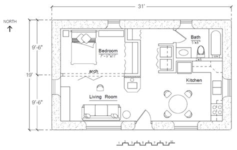 Free Floorplans by Free Economizer Earthbag House Plan Earthbag House Plans