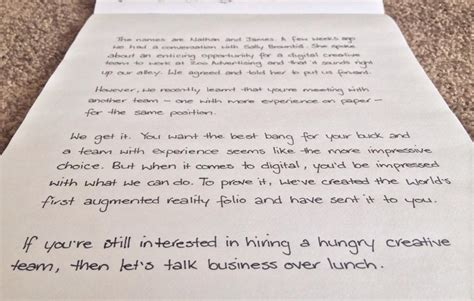 handwritten cover letter applied for a new and wrote a handwritten cover letter