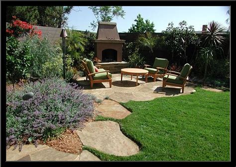patio landscaping designs small backyard corner landscaping
