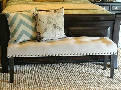 diy upholstered bench seat 17 best ideas about bedroom benches on pinterest bed