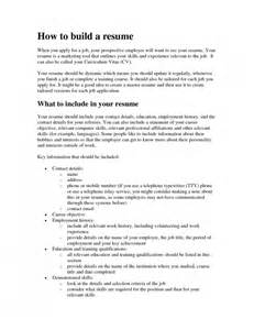 the awesome how to build a free resume resume format web