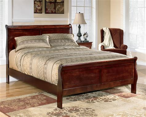 ashley furniture sleigh bed ashley signature design alisdair queen sleigh bed dunk