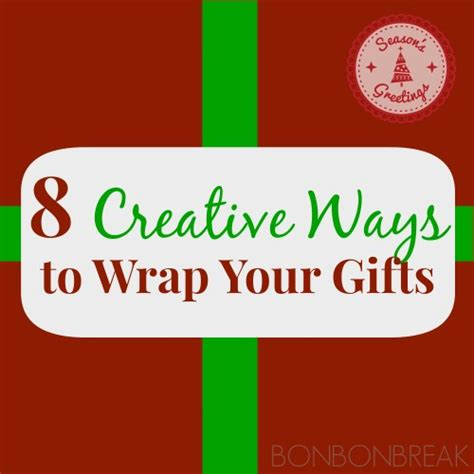creative ways to wrap gifts 8 creative ways to wrap your gifts bonbon