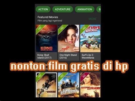 film indonesia live streaming aplikasi nonton film streaming di android sub indonesia