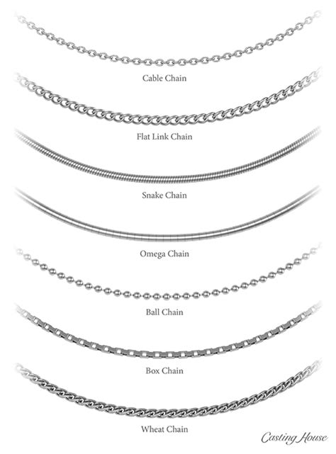 fine necklace chain jewelry styles casting house