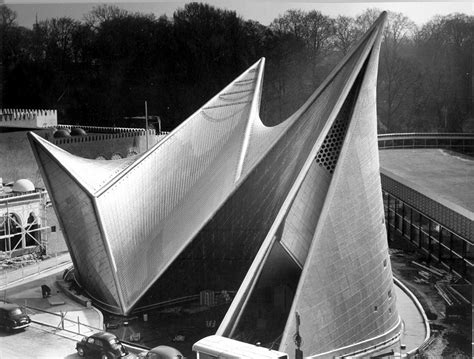 Pavillon Philips Xenakis by Fondation Le Corbusier Buildings Pavillon Philips