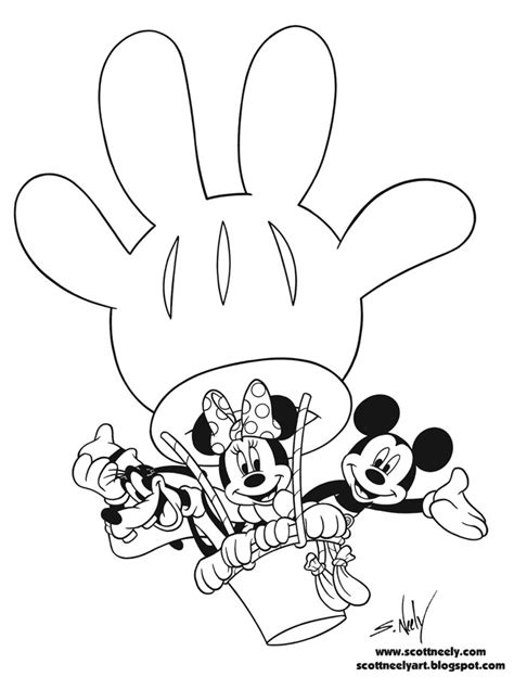 mickey mouse party coloring pages mickey mouse clubhouse coloring page mickey mouse
