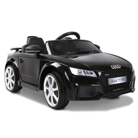 audi tt rs black kogan ride on audi tt rs roadster black compare club