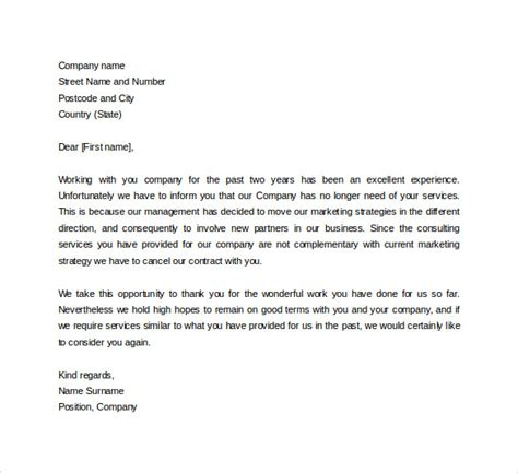 Official Letter For Business Formal Business Letter Format 19 Free