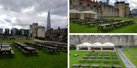 picnic benches for hire picnic bench hire for the tower of london be event hire