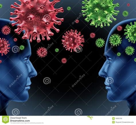 contagious disease stock photography image