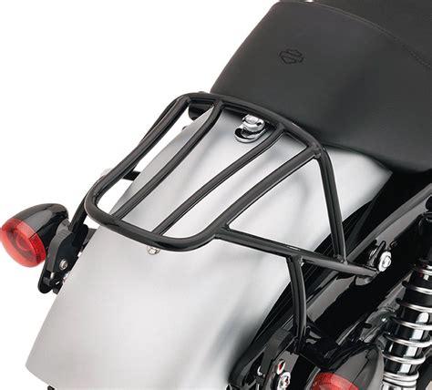Motorrad H Cker Bauen by 53512 07a Abnehmbarer Gep 228 Cktr 228 Ger Schwarz Sportster