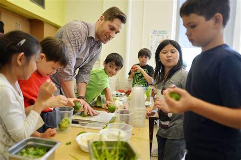 Knives Kitchen luminato festival food program teaching kids the art of