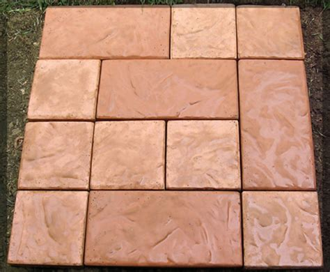 Patio Paver Molds 3pc Chiseled Rock Large Patio Paver Concrete Molds New And Used Petpeoplesplace