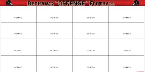 football playmaker template 27 images of nfl football play sheet template infovia net