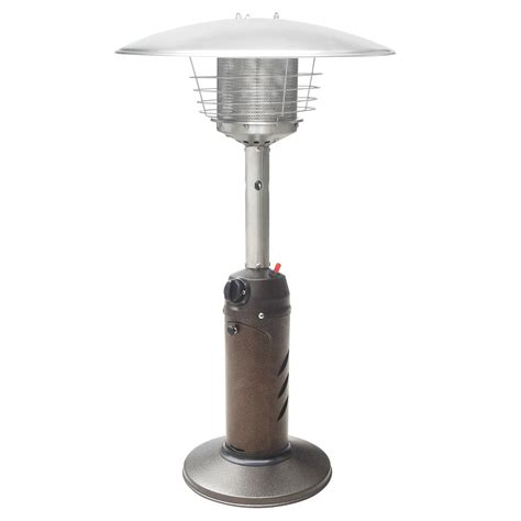 Hammered Bronze Tabletop Outdoor Patio Heater Commercial Outdoor Patio Gas Heaters