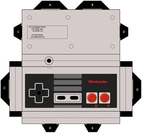 Nintendo Ds Papercraft - nintendo paper craft craftshady craftshady